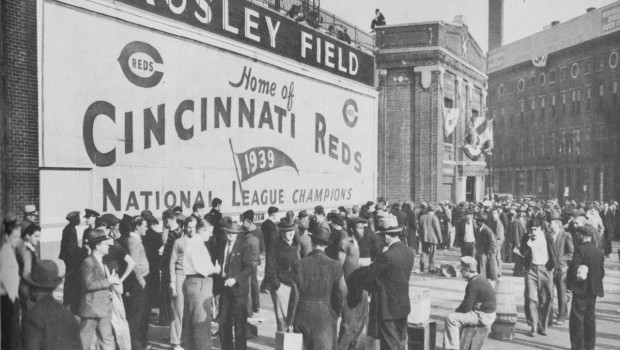 Crosley Field Home of the Cincinnati Reds 1940